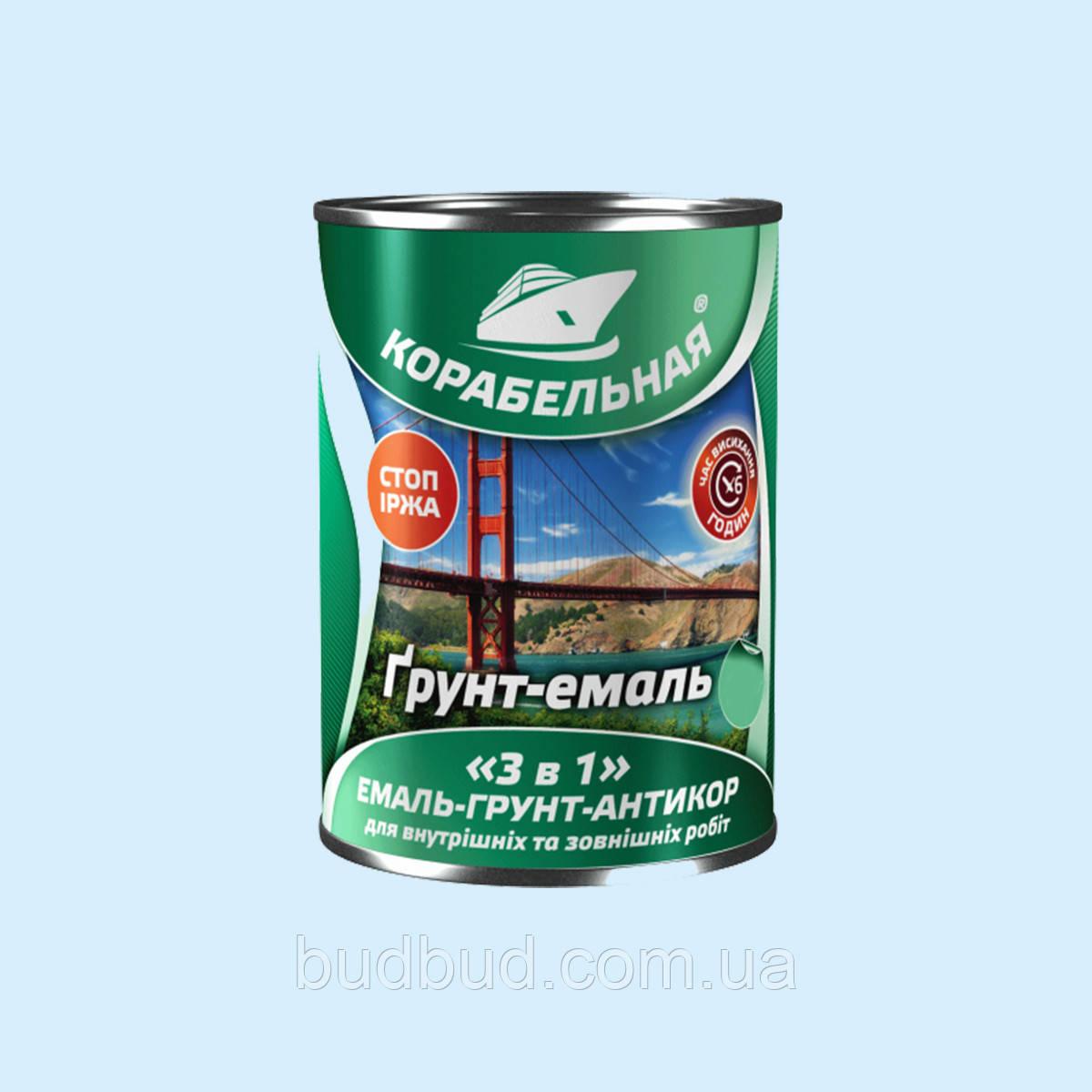 """Грунт-эмаль """"3 в 1"""" вишня Polycolor (Поликолор) Корабельная 2.8 кг"""