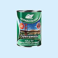 """Грунт-эмаль """"3 в 1"""" зеленый Polycolor (Поликолор) Корабельная 0.9 кг"""