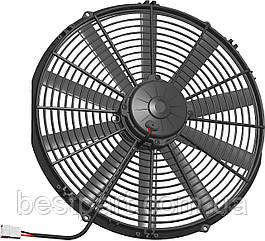 Вентилятор Spal 24V, вытяжной, VA18-BP71LL-86A