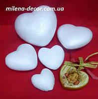 Пенопластовое сердце 8*3см