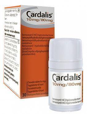 КАРДАЛИС 10 мг CARDALIS  для лечения сердечной недостаточности у собак, 30 таблеток