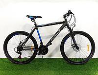 """Спортивный горный велосипед 29 дюймов Аzimut Spark 29"""" FR/D рама 19"""" черно-синий"""
