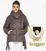 Куртка женская зимняя с капюшоном цвет капучино. Воздуховик Braggart Angel's Fluff Германия