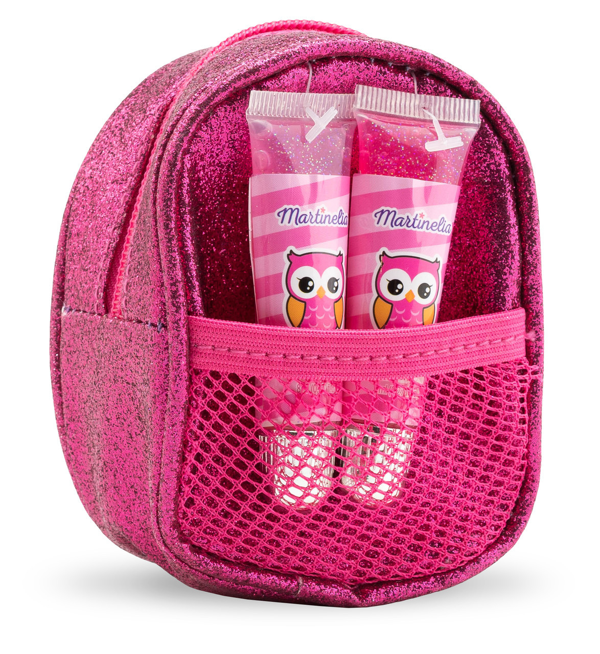 Набор детских блесков для губ с сумочкой мини Малиновый (30495)