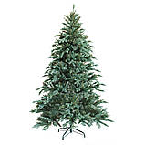 """Новогодняя искусственная елка 2,40 м литая """"Ситхинская"""" голубая, фото 2"""