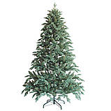 """Новогодняя искусственная елка 2,40 м литая """"Флора"""" голубая, фото 2"""
