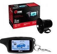 Автосигнализация двухсторонняя сигнализация автомобильная с LCD дисплеем SIGMA SM 500 PRO, фото 1