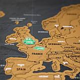 Скретч карта мира 82х59 см, фото 3