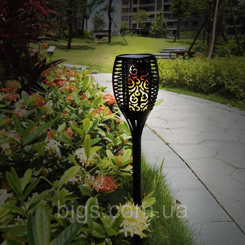 Светильник садовый на солнечной батарее 78х13 см