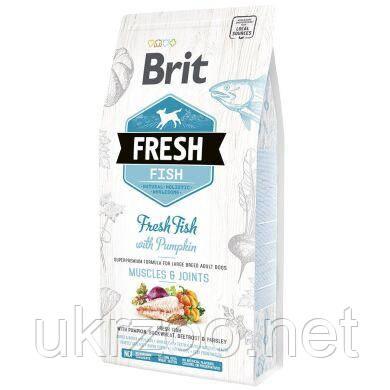 Сухий корм Бріт Фреш для м'язів та суглобів зі свіжою рибою, для дорослих собак великих порід,2,5кг