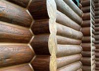 Утепление стен сруба, заделка швов, фото 1