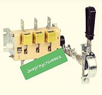 Выключатель-разъединитель ВР32И-37A31240 400А передняя рукоятка IEK
