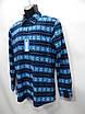 Мужская теплая флисовая рубашка Uniqlo оригинал р.48-50 053RT, фото 3