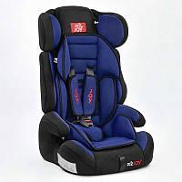 Автокресло Е 1405 универсальное, цвет чёрно-синий, для детей с весом 9-36 кг