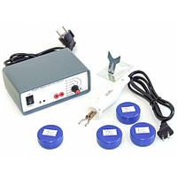 ZD-8905C паяльная станция по пластику горячий степлер, с регулятором температуры 220V/40W, в кейсе