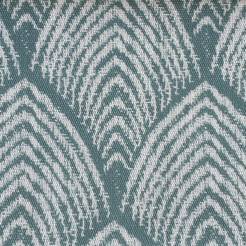 Ткань для уличной мебели Дралон с узором Морская волна