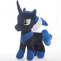 Мягкая игрушка Пони черная