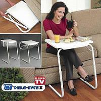 Столик для ноутбука с регулировкой наклона и высоты 52х40х73 см