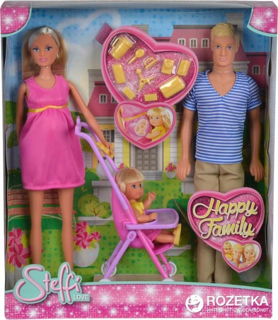 Кукла Steffi Штеффи Счастливая семья SIMBA Оригинал