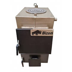 Твердотопливный котел Bizon М-200П (20 кВт с плитой)