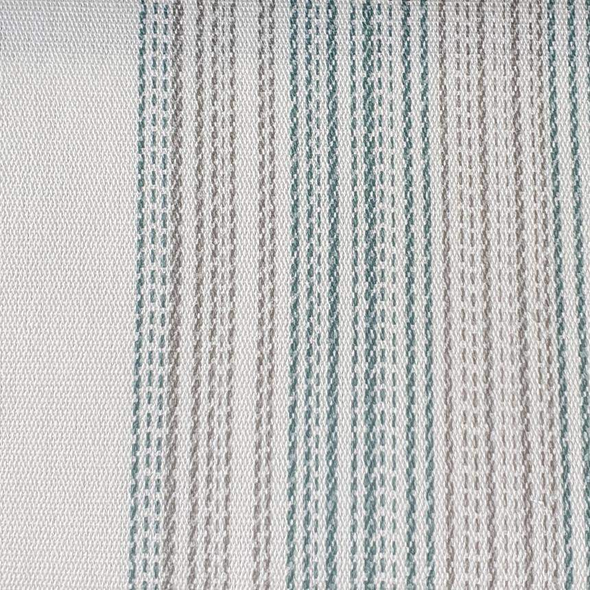 Уличная ткань Дралон с узором полосы Морская волна