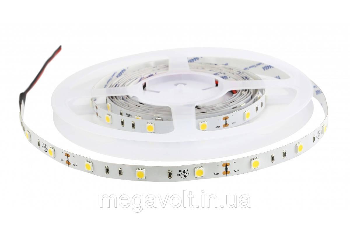 Светодиодная лента ESTAR SMD 5050/30 (IP20) premium 12V тёпло-белая (2900-3200К)