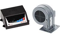 Блок управления ТТ котлом KG Elektronik SP -05 LСD и вентилятор наддува  DP-02