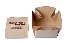 Коробка для Бургера 120х120х110 (ламинированная внутри)