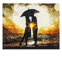 Картина по номерам Влюблённые, размер 40х50