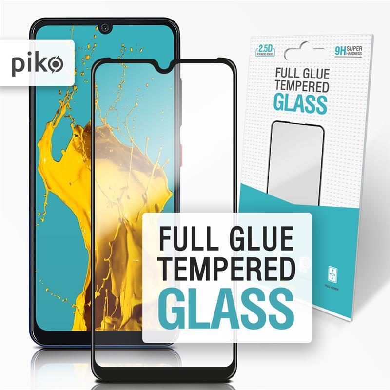 Защитное стекло Piko для ZTE Blade A7 2019 Black Full Glue, 0.3mm, 2.5D (1283126502675)