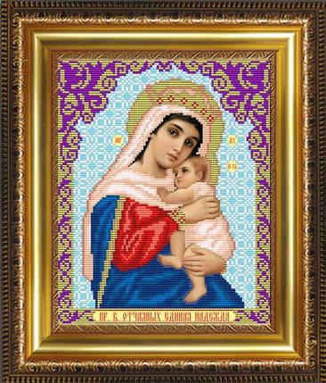 """Рисунок на ткани для вышивания бисером """"Образ Пресвятой Богородицы Отчаяных Единая Надежда"""", фото 2"""