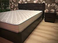 Двухспальная Кровать София Люкс V с подъемным механизмом Олимп из бука, на ламелях