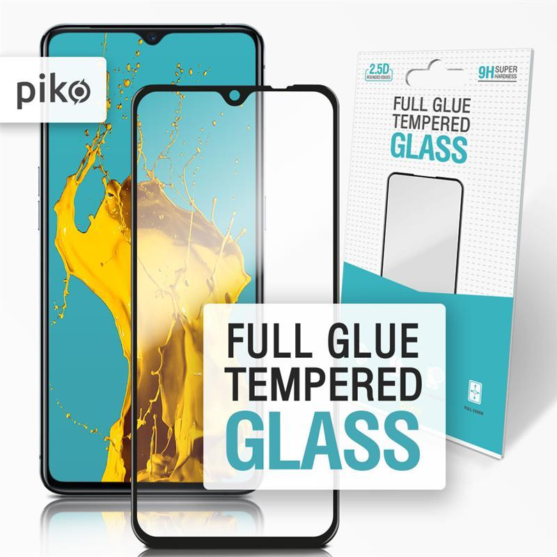 Защитное стекло Piko для Realme X2 Pro Black Full Glue, 0.3mm, 2.5D (1283126497834)