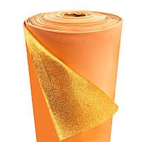 Фоамиран 2мм глиттерный, 1,0м золотой 2311