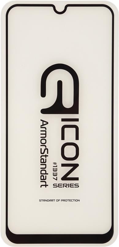Защитное стекло Armorstandart Icon для Samsung Galaxy A51 SM-A515 Black, 0.33mm (ARM56121-GIC-BK)