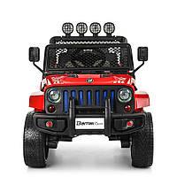Детский электромобиль Джип ORIGINAL Bambi M 3237EBLR-3 Привод 4Х4 180Вт MP3-магнитола FM-приёмник Красный