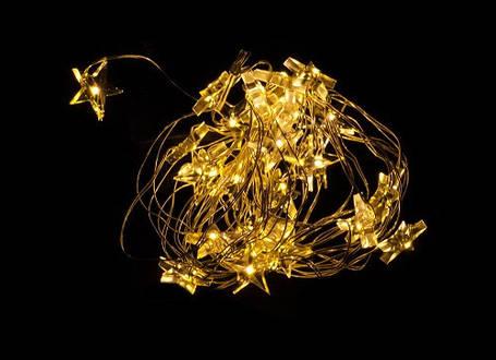 """Гірлянда """"Жовті зірочки"""" """"Luca"""", 3,2 м, фото 2"""