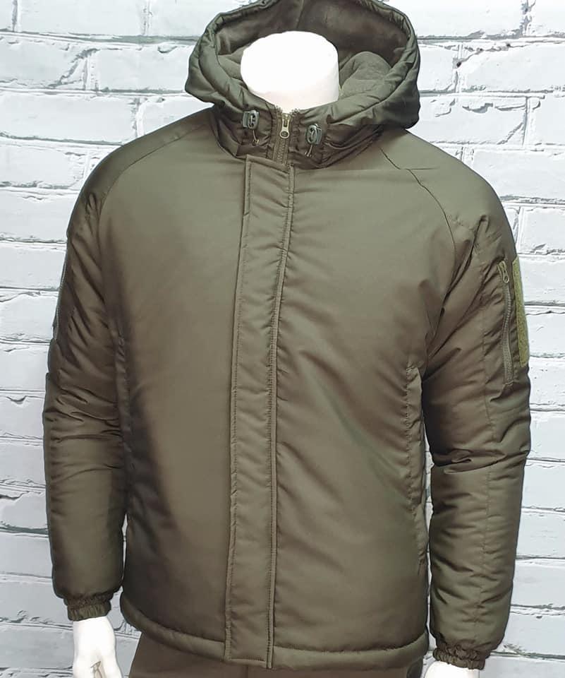 Зимние водозащитные куртки военные олива TASLAN для ВСУ, НГУ