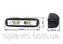 Светодиодные фары ОПТОМ! LED (лэд) фара 20 диодов. 48 Вт. 12-24 Вольт.