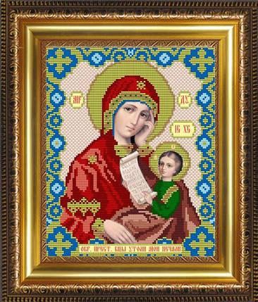 """Рисунок на ткани для вышивания бисером """"Образ Пресвятой Богородицы Утоли Мои Печали"""", фото 2"""