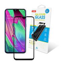 Защитное стекло Global для Samsung Galaxy A40 SM-A405 Full Glue Black (1283126490941), фото 1