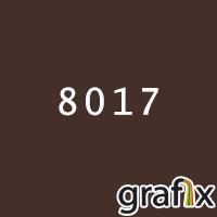 Поліефірна фарба,гладка напівматова,8017(50% глянцевості)