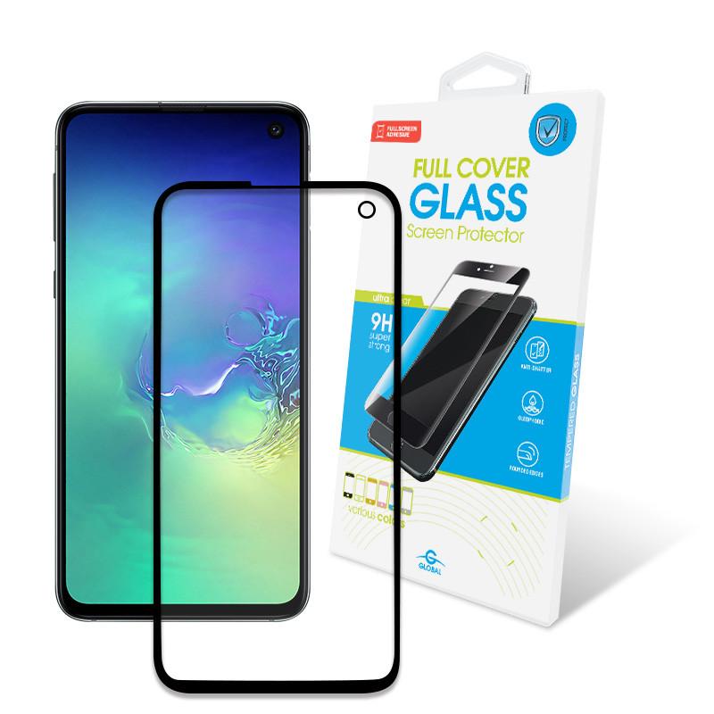 Защитное стекло Global для Samsung Galaxy S10e SM-G970 Full Glue Black (1283126490873)