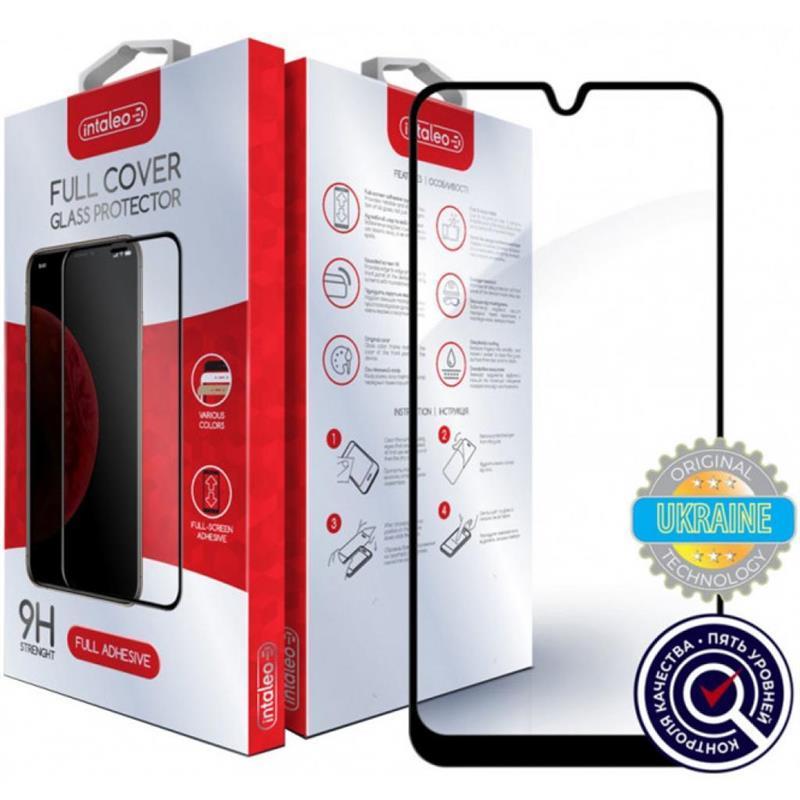 Защитное стекло Intaleo для Samsung Galaxy A01 SM-A015 Full Glue Black (1283126497179)