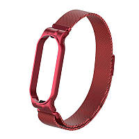 Ремешок Armorstandart Milanese Magnetic Band для Xiaomi Mi Band 5 Red (ARM56850), фото 1