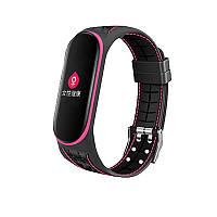 Ремешок BeCover Lattice Style для Xiaomi Mi Smart Band 5 Pink (705163)