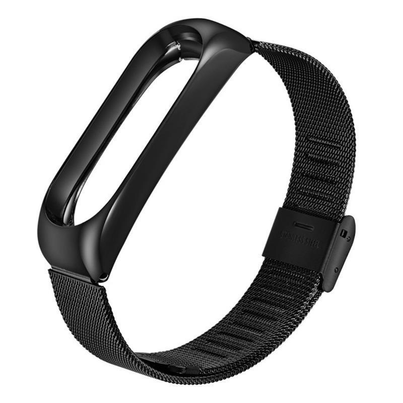 Ремешок BeCover Metal для Xiaomi Mi Smart Band 5 Black (705146)