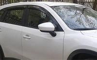 Ветровики Мазда CX-5   Дефлекторы окон Mazda CX5 2011