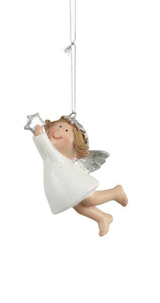 Украшение декоративное, Ангел, звезда, в асс. 10 см, House of Seasons