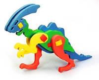 Об'ємний конструктор - іграшка для дітей динозавр
